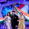 Malaika, Karan Johar and Kirron Kher at the Launch of India's Got Talent Season 5