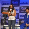 Neha Dhupia and Vidyut Jamwal at the launch of Gillette Fusion Power Phantom