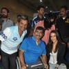 Neha Dhupia with the Mirchi Get Active Expo contestants