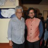 Om Puri during Prateek Sharma's art show