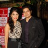 Hina Khan and Karan Mehra at the 5 years Celebration of Yeh Ristha Kya Kehlata Hai