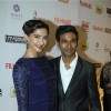 Sonam Kapoor and Dhanush at the 59th Idea Filmfare Pre Awards Party