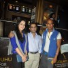 Tulip Joshi watches SHOLAY 3D with the JAI HO team