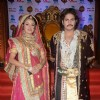 Paridhi Sharma and Rajat Tokas were seen at the Launch of Jodha Akbar e-book and mobile game launch