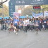 Tara Sharma was at the Mumbai Marathon 2014