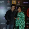 Aditya Narayan and Shreya Ghoshal were seen at Gima Awards 2013