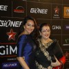 Sonakshi Sinha with her mother at Gima Awards 2013