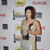 Shilpa Shukla shows her black lady at the 59th Idea Filmfare Awards 2013