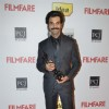 Rajkummar Rao with his black lady at the 59th Idea Filmfare Awards 2013