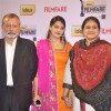 Pankaj Kapoor and Supriya Pathak with their daughter were at the 59th Idea Filmfare Awards 2013