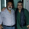 Swanand Kirkire and Saurabh Shukla at the Birthday Party for Sudhir Mishra