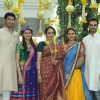 Hema Malini with her daughters and Sons-in-law