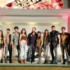 Rohit Shetty with all the contestants at the Launch of Khatron Ke Khiladi Darr ka Blockbuster