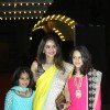Madhoo with her daughters was at the Sangeet Ceremony