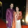 Esha Deol and her husband Bharat Takhtani at the Sangeet Ceremony