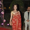 Dia Mirza was at Ahana Deol & Vaibhav Vora's Reception party