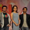 Vikas Bahl, Kangana Ranaut and Rajkummar Rao were at the Music launch of 'Queen'
