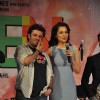 Vikas Bahl and Kangana Ranaut at the Music launch of 'Queen'