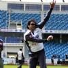 Bobby Deol practices at the CCL Dubai match