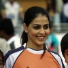 Genelia Dsouza was seen at the CCL Dubai match
