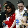Chitrangda Singh at the CCL Dubai match