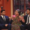 Ranveer Singh, Ali Asgar and Arjun Kapoor in a gig on the show