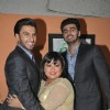 Ranveer Singh, Bharti Singh and Arjun Kapoor during Promotions of Gunday on Comedy Circus