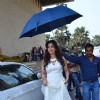Juhi Chawla arrives for the Promotion of Gulaab Gang on Boogie Woogie