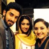 Vishal with Farnaz and Vishavpreet