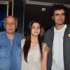Mahesh Bhatt comes in for a screening of Highway