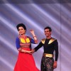 Kangana performs with a contestant on India's Got Talent Season 5