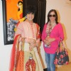 Rohhit Verma and Zeenat Aman at That life in Colors - Art Exhibition