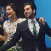 Sonam Kapoor and Ayushmann Khurrana at the Promotions of Bewakoofiyaan