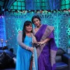 Bharti Singh and Vidya Balan at the 'No More Kamzor' event