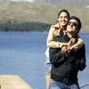 Lovable scene of Fardeen and Genelia Dsouza