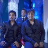 Govinda,Fardeen and Tusshar looking shocked