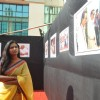 Usha Jadhav at the Photo exhibition - Eka Vadlachi Kahani