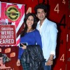 Kishwer Merchantt and Suyyash Kumar at 50th show celebration of Paritosh Painter's standup comedy