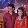 Madhuri Dixit and her husband at the Special Screening of Gulaab Gang