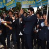 Ayushmann performs a corporate flash mob