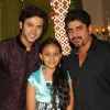 Mishkat Varma with Rajan Shahi and his daughter