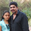 Rajan Shahi with his daughter