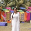 Drashti Dhami at Colors Holi Party