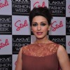 Sonali Bendre was seen at the Stoli Lounge at Lakme Fashion Week