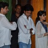 Ritesh and Genelia were seen at Sanjeev(Bobby) Chawla's Prayer Meet