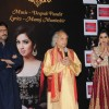 Shreya Ghosal with Sanjay Leela Bhansali and Pandit Jasraj at her 1st Ghazal Album Launch