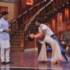 Terence dances with Sumona while Kapil watches on