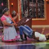 Terence teaches some dance moves to Dadi