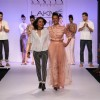 Asmita Marwa with her show stopper Adhuna Akhtar at Lakme Fashion Week Summer Resort