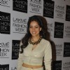 Vidya Malvade at the Lakme Fashion Week Summer Resort 2014 Day 4